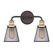 Vault 2-light Bath Sconce (item #RS-03QZ-VLT8602X)