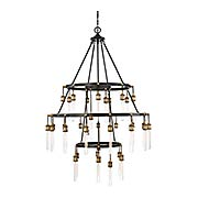 Campbell 35 Light Chandelier (item #RS-03SHL-1-2903-35-51)