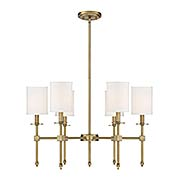 Chatham 6 Light Chandelier (item #RS-03SHL-1-305-6X)