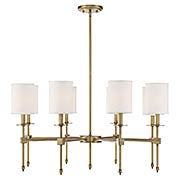 Chatham 8 Light Chandelier (item #RS-03SHL-1-306-8X)
