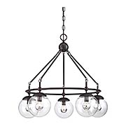 Argo 5 Light Chandelier (item #RS-03SHL-1-350-5-13)