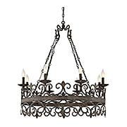 Flanders 8-Light Chandelier (item #RS-03SHL-1-8001-8X)