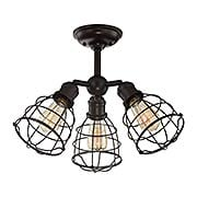 Scout 3-Light Adjustable Semi-Flush Mount Ceiling Light (item #RS-03SHL-6-4136-3X)