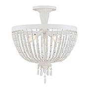 Geneva 3 Light Semi-Flush (item #RS-03SHL-6-5092-3-82)