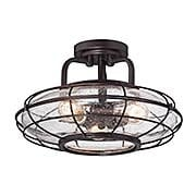 Connell Semi-Flush Ceiling Light (item #RS-03SHL-6-574-3-13)