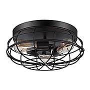 Scout Flush-Mount Ceiling Light (item #RS-03SHL-6-8074-15X)