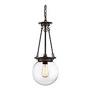 Landon 1 Light Orb Pendant (item #RS-03SHL-7-3300-1X)