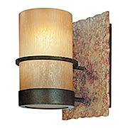 Small Bamboo 1-Light Bath Sconce (item #RS-03TL-B1841BB)
