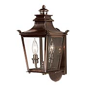Dorchester 2 Light Small Wall Lantern (item #RS-03TL-B9490EB)
