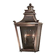 Dorchester 2 Light Flush Wall Mount Lantern (item #RS-03TL-B9494X)