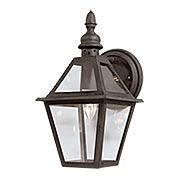 Townsend 1 Light Small Wall Lantern (item #RS-03TL-B9620NB)