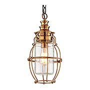 Little Harbor 1 Light Medium Hanging Lantern (item #RS-03TL-F3578)