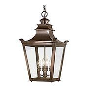 Dorchester 4 Light Large Hanging Lantern (item #RS-03TL-F9499EB)