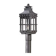 Dover Exterior Post Light in Natural Bronze (item #RS-03TL-PCD8972X)