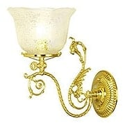 "St. George Single Sconce With 4"" Fitter (item #RS-03VL-W59GX)"