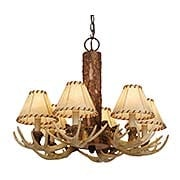Lodge 6-Light Chandelier (item #RS-03VX-CH33006NS)