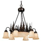 Yosemite 9-Light Chandelier (item #RS-03VX-CH55506BBZ)