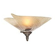 Capri Floral 1-Light Wall Sconce (item #RS-03VX-CP-WSU170BW)