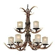 Yoho Two Tier 9-Light Chandelier (item #RS-03VX-H0014)