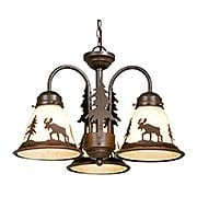 Yellowstone Mini Chandelier (item #RS-03VX-LK55616BBZ-C)
