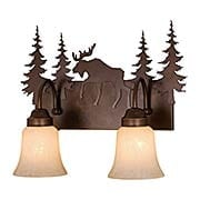 Yellowstone 2-Light Bath Sconce (item #RS-03VX-VL55602BBZ)
