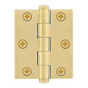 Plain Brass Heavy Duty Screen Door Hinge (item #RS-04DH-DSB3025X)