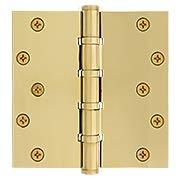 Square Corner Ball Bearing Door Hinge - 6 x 6-Inch (item #RS-04DH-DSB66X)