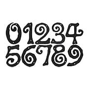 Scroll Style House Numbers - 5 1/2