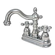 Chesapeake Centerset Bathroom  Faucet with American Cross Handles (item #RS-07KB-KS160AXX)