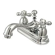 Cumberland Centerset Bathroom Faucet with American Cross Handles (item #RS-07KB-KS360AXX)