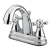 Delaware Bay Centerset Bathroom Faucet with American Cross Handles (item #RS-07KB-KS761AXX)