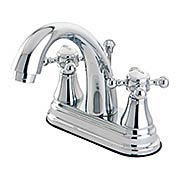Delaware Bay Centerset Bathroom Faucet with European Cross Handles (item #RS-07KB-KS761BXX)