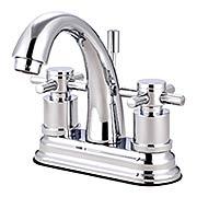 Sarasota Centerset Bathroom Faucet with Bauhaus Cross Handles (item #RS-07KB-KS861DXX)