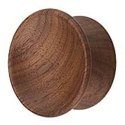 Axle Wood Drawer Knob - 2 3/16