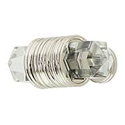 Chrysalis Clear Glass T-Knob - 1 7/8 X 3/4-Inch (item #RS-08BW-B076303GL-14)
