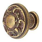 Scroll Design Cabinet Knob - 1
