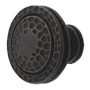 Mountain Lodge Ringed Cabinet Knob - 1-3/8