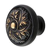 Acanthus Cabinet Knob 1 1/4 Inch Diameter (item #RS-08KE-D26X)