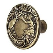 The Lady and The Peacock Cabinet Knob (item #RS-08NH-NHK-123X)