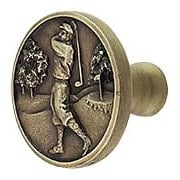Gentleman Golfer Cabinet Knob (item #RS-08NH-NHK-130X)