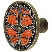 Monarch Butterfly Cabinet Knob (item #RS-08NH-NHK-145X)