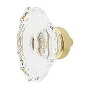 Chateau Lead-Free Crystal Cabinet Knob - 1 3/4