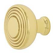 Streamline Deco Cabinet Knob - 1 3/8