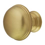 Atherton Plain Surface Cabinet Knob with Knurled Edge - 1 1/4