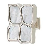 Crescendo Cabinet Knob with Mother-of-Pearl - 1 1/2