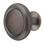 Primrose Traditional Plain Cabinet Knob - 1 1/4