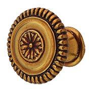 Intarsia Cabinet Knob - 1 5/16
