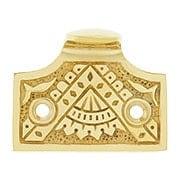 Oriental Pattern Sash Lift In Solid Cast Brass (item #W-09HH-SB500X)